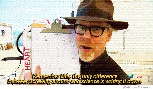Abbildung 1: Virales Internet-Meme zur Bedeutung des Schreibens.